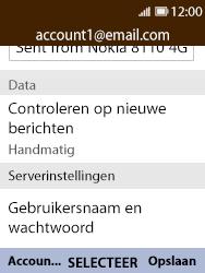 Nokia 8110-ta-1071 - E-mail - Instellingen KPNMail controleren - Stap 10
