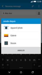HTC Desire 816 - Contact, Appels, SMS/MMS - Envoyer un MMS - Étape 15