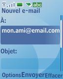 Nokia 3110 classic - E-mail - envoyer un e-mail - Étape 7