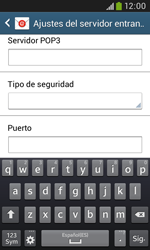 Samsung S7580 Galaxy Trend Plus - E-mail - Configurar correo electrónico - Paso 9