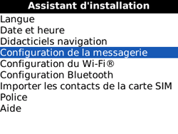 BlackBerry 8520 Curve - E-mail - Configuration manuelle - Étape 5