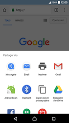 Sony Xperia XZ - Android Nougat - Internet - navigation sur Internet - Étape 21