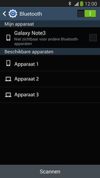 Samsung N9005 Galaxy Note III LTE - Bluetooth - Koppelen met ander apparaat - Stap 6