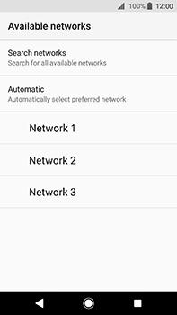 Sony Xperia XA2 Ultra - Network - Manually select a network - Step 9