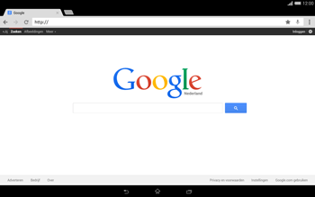 Sony Xperia Tablet Z2 (SGP521) - Internet - internetten - Stap 8