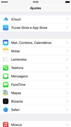 Apple iPhone iOS 8 - Email - Como configurar seu celular para receber e enviar e-mails - Etapa 3