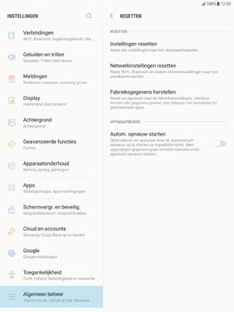 Samsung Galaxy Tab S2 9.7 - Android Nougat - Instellingen aanpassen - Fabrieksinstellingen terugzetten - Stap 6