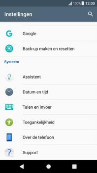 Sony Xperia XA1 Plus (G3421) - Instellingen aanpassen - Fabrieksinstellingen terugzetten - Stap 4