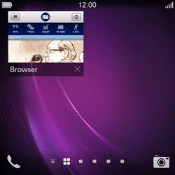 BlackBerry Q10 - Internet - hoe te internetten - Stap 14