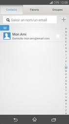Sony Xpéria T3 - E-mails - Envoyer un e-mail - Étape 6