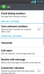 LG P710 Optimus L7 II - Voicemail - Manual configuration - Step 5