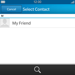 BlackBerry Q5 - Mms - Sending a picture message - Step 5