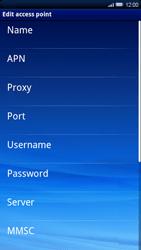 Sony Xperia X10 - Internet - Manual configuration - Step 8