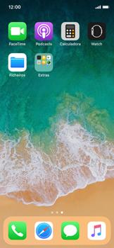 Apple iPhone X - Contactos - Como adicionar um novo contacto -  3