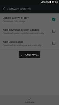 HTC Desire 825 - Network - Installing software updates - Step 7