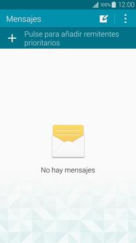 Samsung N910F Galaxy Note 4 - Mensajería - Configurar el equipo para mensajes de texto - Paso 4