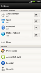 HTC Z520e One S - Mms - Manual configuration - Step 4