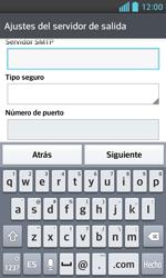 LG Optimus L5 II - E-mail - Configurar correo electrónico - Paso 13