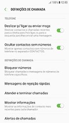 Samsung Galaxy A3 (2016) - Android Nougat - Chamadas - Bloquear chamadas de um número -  6