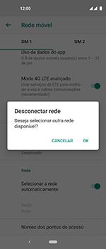 Motorola One Vision - Rede móvel - Como selecionar o tipo de rede adequada - Etapa 12