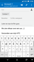 HTC One A9 - E-mail - Bericht met attachment versturen - Stap 10