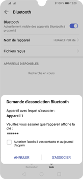 Huawei P30 Lite - Bluetooth - connexion Bluetooth - Étape 9