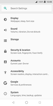 ZTE Blade V9 - Device - Reset to factory settings - Step 5