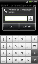HTC A7272 Desire Z - Messagerie vocale - Configuration manuelle - Étape 7