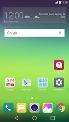 LG G5 - Android Nougat - Réseau - Utilisation à l