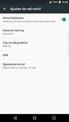 BlackBerry DTEK 50 - Red - Seleccionar el tipo de red - Paso 8
