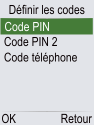 Doro Phone Easy 621 - Sécuriser votre mobile - Personnaliser le code PIN de votre carte SIM - Étape 13