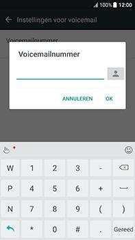 HTC U11 (2PZC100) - Voicemail - Handmatig instellen - Stap 7