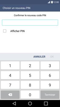 LG G4 - Sécuriser votre mobile - Activer le code de verrouillage - Étape 10