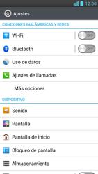 LG Optimus L9 - Internet - Configurar Internet - Paso 4