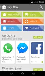 Sony Xperia E1 - Aplicações - Como pesquisar e instalar aplicações -  4