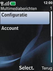 Nokia 6600i slide - MMS - Automatisch instellen - Stap 10