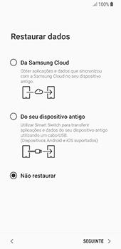 Samsung Galaxy S8 - Android Oreo - Primeiros passos - Como ligar o telemóvel pela primeira vez -  21