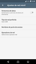 Sony Xperia XZ - Android Nougat - Red - Seleccionar el tipo de red - Paso 8