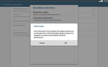Samsung Galaxy Tab4 10.1 4G (SM-T535) - Buitenland - Bellen, sms en internet - Stap 11