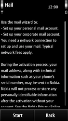 Nokia 500 - E-mail - Manual configuration - Step 6