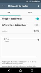 Sony Xperia X Dual SIM (F5122) - Internet no telemóvel - Como ativar os dados móveis -  7