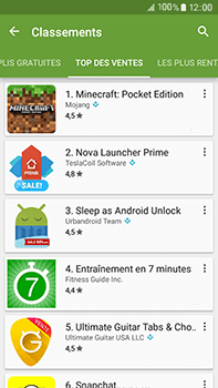 Samsung Samsung Galaxy J7 (2016) - Applications - Télécharger une application - Étape 8
