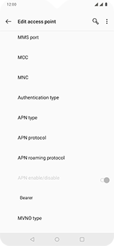 OnePlus 6T - Internet - Manual configuration - Step 12