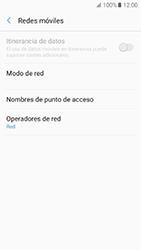 Samsung Galaxy A5 (2017) (A520) - Red - Seleccionar una red - Paso 6