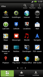 HTC S720e One X - Internet - hoe te internetten - Stap 2