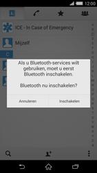 Sony D6503 Xperia Z2 - Contactgegevens overzetten - delen via Bluetooth - Stap 11