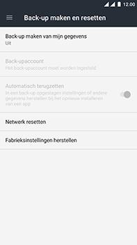OnePlus 3 - Android Nougat - Toestel reset - terugzetten naar fabrieksinstellingen - Stap 5