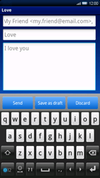 Sony Ericsson Xperia X10 - Email - Sending an email message - Step 8