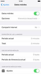 Apple iPhone 6s iOS 10 - Internet - Configurar Internet - Paso 5
