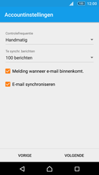Sony Xperia M5 - E-mail - Account instellen (IMAP met SMTP-verificatie) - Stap 19